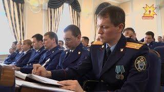 Глава Чувашии Михаил Игнатьев принял участие в заседании руководителей правоохранительных органов.