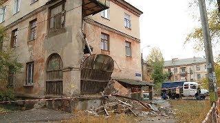 В жилом доме на юге Волгограда обрушились балконы