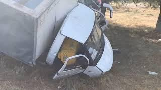 Пассажирский автобус врезался в грузовую «Газел