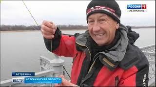 На какой клёв можно рассчитывать в Астрахани в начале зимы?