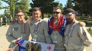 В Волгограде побывала «великолепная четверка» смоленских болельщиков