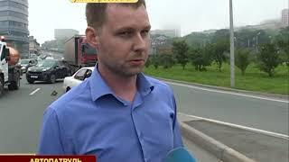 Недопонимание между водителями привело к ДТП на Некрасовской