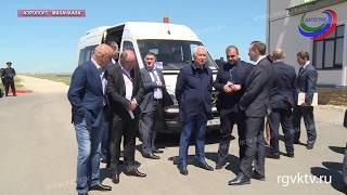 Врио главы Дагестана встретился с министром спорта РФ