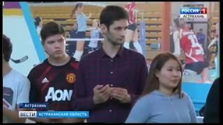 В Астрахани прошёл Открытый международный турнир по настольному теннису