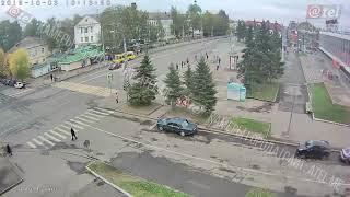 ДТП перекресток Крестовая Кирова 03 10 2018
