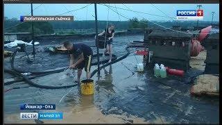 Когда капремонт приносит много хлопот - йошкаролинцев затопило из-за недоделанной крыши