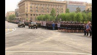 В Волгограде прошла генеральная репетиция Парада Победы
