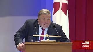 Глава республики Владимир Волков обратился с ежегодным Посланием к Государственному Собранию