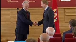Виктор Томенко попрощался с правительством Красноярского края