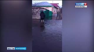 В Кумылженском районе из-за паводка введен режим ЧС
