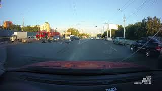 Новосибирск. ДТП на Большевистской.