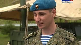 Костромские гвардейцы - о том, как правильно готовить настоящую солдатскую кашу