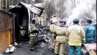 Службы экстренного реагирования ликвидируют последствия пожара в деревне Соболиха