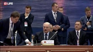 Путин проводит ЕвразЭС в Петербурге