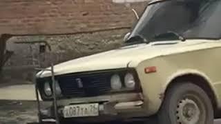 Житель Ставропольского края заменил автомобильное колесо на тележку