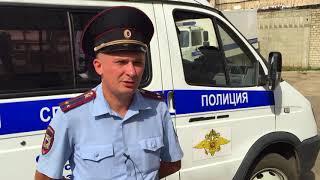 Полицейский спас мужчину из горящего дома в Арзамасе