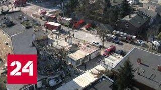 Взрыв в Познани: дом обрушился, трое погибли, 21 пострадал - Россия 24