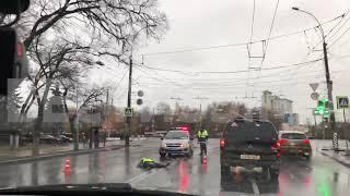 Неизвестный сбил насмерть пенсионерку в центре Вологды и скрылся с места ДТП (ВИДЕО)