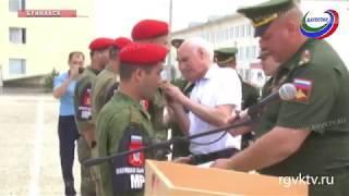 Батальон военной полиции прибыл в Буйнакск из Сирии