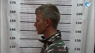 По подозрению в кражах в Новгородском районе задержан ранее судимый местный житель