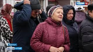 Прямое включение: Барнаул присоединился к Всемирному дню борьбы с инсультом