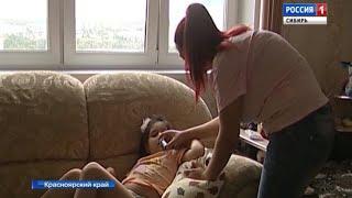 Пятилетнюю девочку из гипермаркета Красноярска увезли на машине скорой помощи после падения
