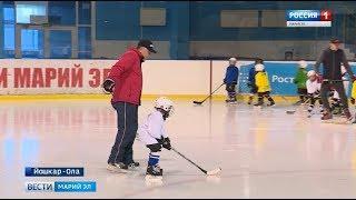 «Хочу играть, как Овечкин»: в Йошкар-Оле появилась команда хоккеистов-малышей