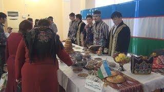 UTV. Студенты из Таджикистана приготовили казан плова в парке Якутова