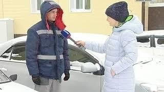 Вести-Хабаровск. Машина пострадала от снежной лавины
