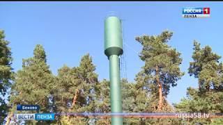 В Бековском районе отремонтированы сразу три водонапорные башни