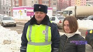Письмо водителю: школьники Заволжского района попросили водителей быть внимательнее