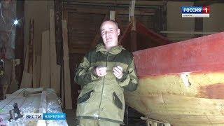 Полицейский в свободное от работы время построил копию варяжской ладьи