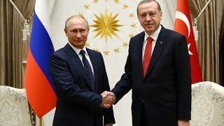 """Путин на церемонии запуска строительства АЭС """"Аккую"""" в Турции. Полное видео"""