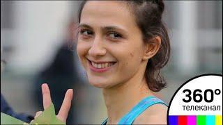 Чемпионку мира по легкой атлетике Марию Ласицкене встретили в Москве