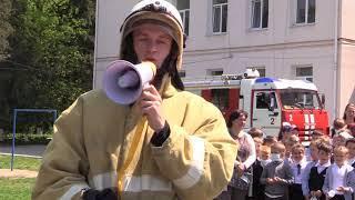Школьников выводили из огня