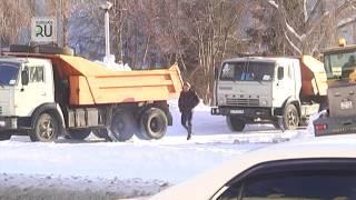 Курганский снег «похоронят» в Зайково