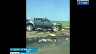 В ДТП с пятью автомобилями погибла женщина в Заларинском районе
