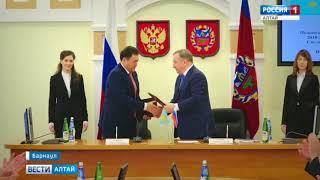 На Алтае работала делегация Павлодарской области республики Казахстан