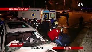 4 человека пострадали в ночном ДТП: BMW врезался в ограждение монумента Славы