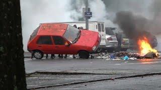 Студенческие беспорядки в Нанте