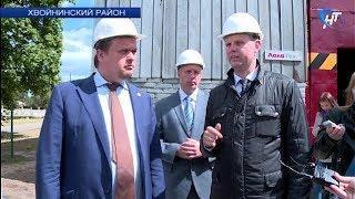 Андрей Никитин посетил Хвойнинский район с рабочим визитом