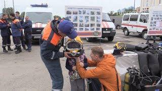 МЧС по Мордовии показало всем желающим свою технику и снаряжение