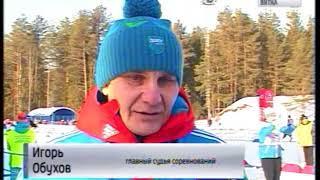 В регионе состоялся самый массовый забег «Лыжня России» (ГТРК Вятка)