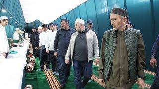 Реликвии Пророка Мухаммада, алейхи саляту ва саляму,  прибыли в Ахвахский район