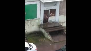 Снег в Воркуте