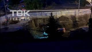 Копылова Красноярск ночью работают ковшом