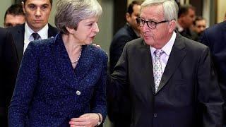 """Саммит ЕС по """"брекситу"""" открывается в Брюсселе"""