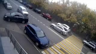 Авто приколы Дебилы на дорогах 3