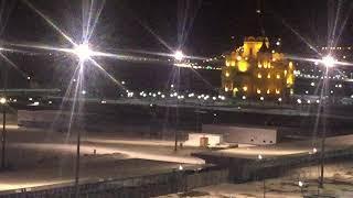 Ночные гонки на нижегородской Стрелке