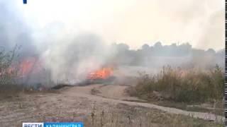 За сутки в Калининградской области произошло три пожара